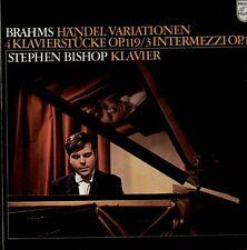 Brahms - Recital, 1st ED LP, Stephen Bishop - Kovacevich, Philips 839 722 LY
