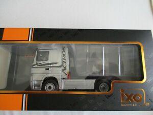 Miniature Truck Mercedes Benz Actros Mp 2 Silver IXO TR022 1/43 IN Box