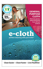 NEW! E-CLOTH Glass And Polishing Polyester / Polyamide Cleaning Cloth 10602