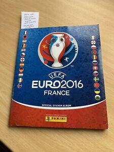 PANINI France 2016 Euro Sticker Album Complete - Excellent example!!