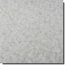 200 Perlas de vidrio 4mm Christal Mate