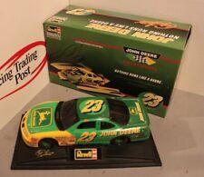 1996 Chad Little John Deere 1/24 Revell NASCAR Diecast - Autographed on Box