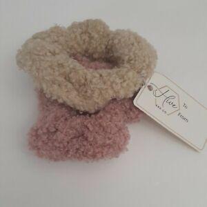 Cozy Comfort Hair Scrunchies 3.5 × 3.5 in