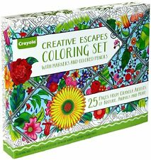 Crayola Adult Colouring Large Gift Set 70 Pieces.