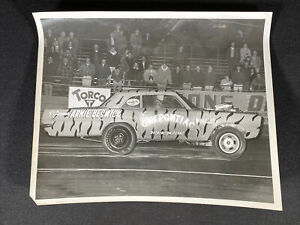 Vtg 1960's Arnie Beswick Gay Pontiac Dickinson Texas 8x10 Photo Drag Car Racer