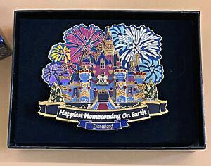 Disney Collector Jumbo Pin Castle Happiest Homecoming 50th LE 750 Disneyland