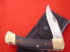 "Buck USA FOLDING HUNTER 110 5"" Lock Blade Pre 1986 Lockback Knife"