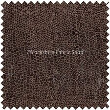 Brown Faux Leather / leathertte / Ecopelle Scamosciata / Serpente Tessuto Tappezzeria materiale