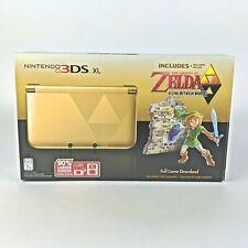 Nintendo 3ds XL Zelda Gold Edition Box Manual Insert Foam Sleeve No Console Link