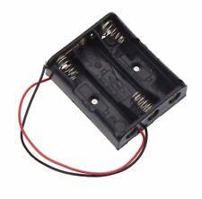 3 Slots AA Battery Case Power Battery Storage Cases Plastic Box Holder Lead 4.5V