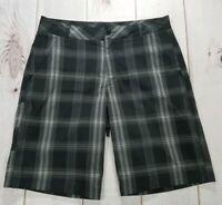 Fila Sport Shorts Black & Gray Golf Palid Men's Size 32