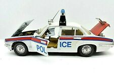 Miniature voiture Jaguar XJ 4.2 Police Politoys Polistil auto 1:25 1/24
