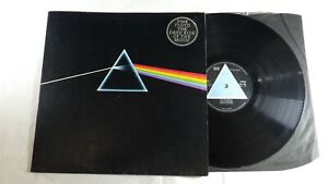 Pink Floyd, Dark side of the Moon, SOLID BLUE UK 1st press, A3 B2 complete EX/EX