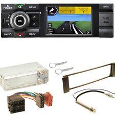 Kienzle MCR 1031 NAV DAB+ Navigation USB Einbauset für Seat Leon Toledo 1M