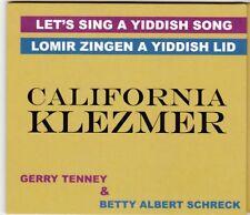 Let's Sing A Yiddish Song Lomir Zingen A Yiddish Lid California Klezmer