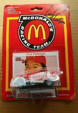 Racing Champions Cruz Pedregon McDonalds/LarryMinor Racing Car autographed card!