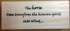 Mounted Rubber Stamps, Western, Equestrian, Horses, Horse Sayings, Horse Quotes
