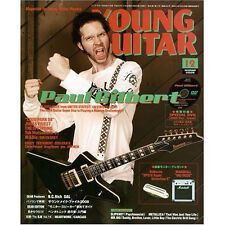 Young Guitar Dec/08 Paul Gilbert DVD Mr. Big Judas Priest B'z Tak Dir En Grey