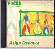 (BU89) Focus Music Library, Asian Grooves - FCD177 CD