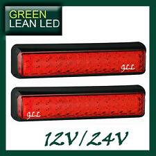 LED 12V 24V SUBMERSIBLE TAIL LAMP LIGHTS STOP TRAILER TRUCK UTE ADR 200mm/50mm