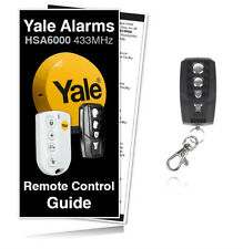 Yale Alarm Remote HSA6060 / HSA6000 Premium Compatible Remote Control Key Fob
