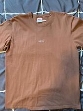 Supreme T-shirt Large - Brown