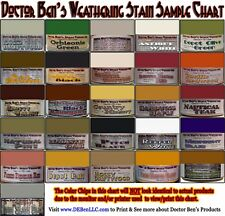 Weathering Stain Set #2-Doctor Ben's 8-Jar READY-TO-USE FLOQUIL  pab01