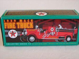 Ertl Texaco 1929 Mack Fire Truck 1:34