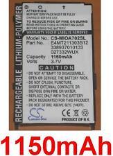 Batterie 1150mAh type 027332WUX 338937010133 E4MT211303B12 Pour Mitac Mio A702