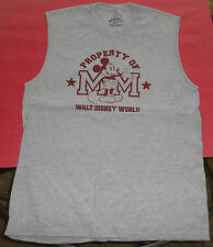 Property Of Walt Disney World Sleeveless T-Shirt - Medium - New