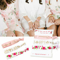 Bridesmaid Gifts Will You Be My Bridesmaid Cards Bracelet Hair Tie Eye Mask Set