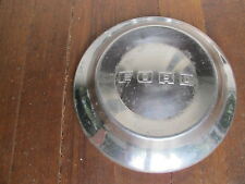 Original Vintage 1952 1953 1954 Ford Dog Dish Hubcap 10 1/2 inches