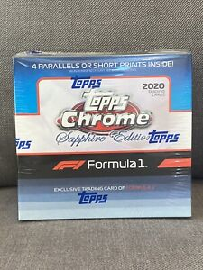 2020 Formula 1 F1 Topps Chrome Sapphire Box!! In-hand!! Brand New!