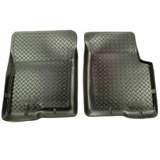 Husky Classic Style Front Floor Liners Black for Ford E-Series Van 1997-2019