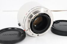 Minolta Af 2X Tele Converter Apo for Minolta/Sony A mount [Excellent] from Japan