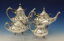 Hampton Court by Reed & Barton Sterling Silver Tea Set 4pc (#0553)