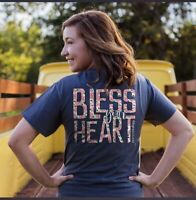 Southernology NWT SMALL Comfort Colors Bless Your Heart Spring Graphic T-Shirt