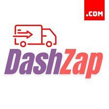 DashZap.com - 7 Letter Domain Name - Brandable Delivery Domain .COM Dynadot