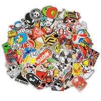 100 Aufkleber / Sticker-bomb Retro-, Graffiti- Style,Tuning Logos & Marken -Set3