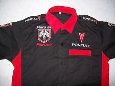 NEU PONTIAC FIERO GT Fan - Hemd schwarz/rot shirt blouse camisa chemise skjorta