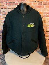 Vintage Arcticwear Arctic Cat Leather Letterman Varsity Jacket Bounty Hunter XLT