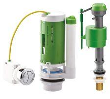 Croydex Toilet Cistern WC Water Saving Universal Push Button Flush and Fill Kit