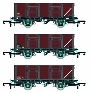 Accurascale ACC1094-MDVE BR 21T COAL21VB/MDV Mineral Wagon Pack Bauxite Pack D