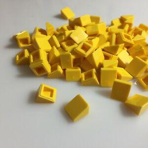 Lego 5 Novo Tan encostas Curvo 2 X 2 Peças inclinada