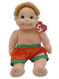 Ty Beanie Baby Kids Buzz Blond Boy Collectible Plush Retired Vintage Original