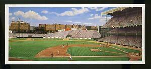 YANKEE STADIUM IRONMAN by William Feldman BILL GOFF Postcard 1995 LOU GEHRIG