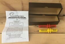 Vintage Simpson High Voltage Test Probes New In Open Box 5000 Vdc