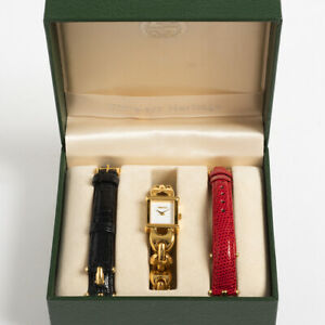 Gucci 1800L ladies dress watch. With Box. Outstanding Condition.