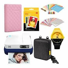 KODAK Smile Classic Digital Instant Camera with Bluetooth (Blue) Scrapbook Photo
