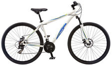 29 in Mongoose Men's Mountain Bike Banish 2.0, White